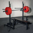 Competition Bench and Squat Rack Combo