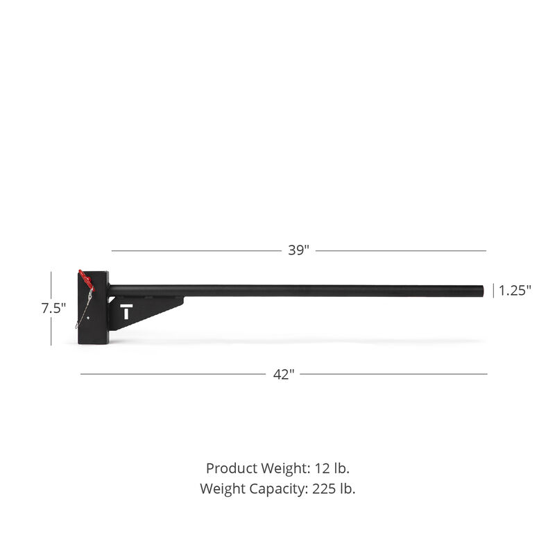 Rack Mounted Youth Pull-Up Bar