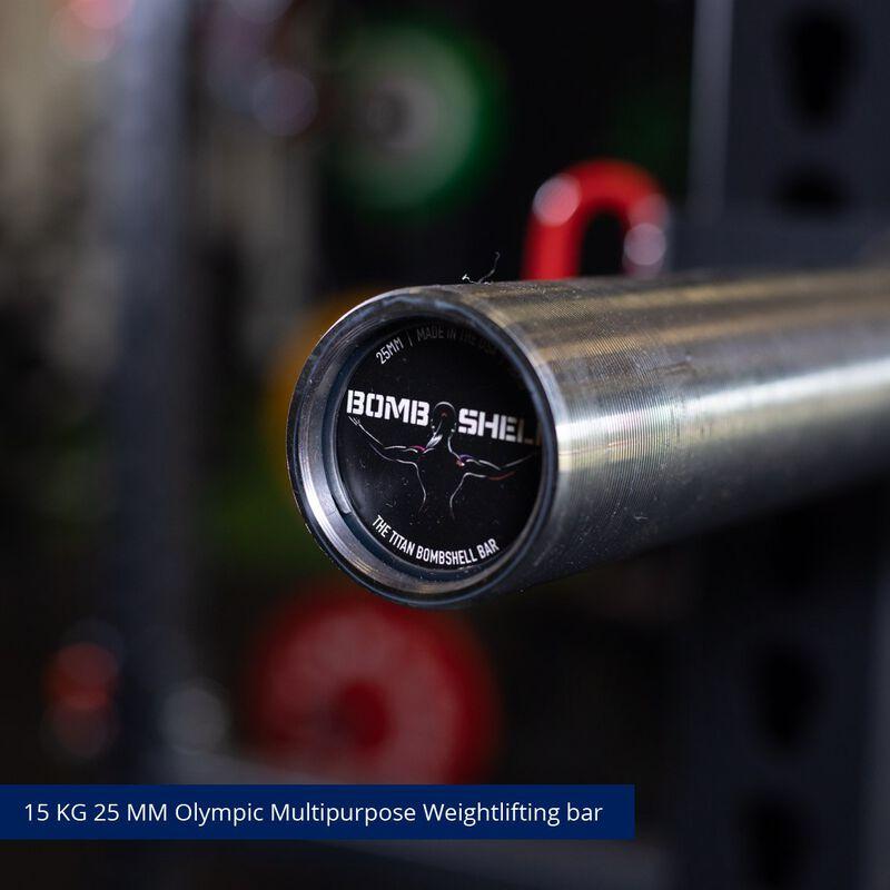 Women's Bombshell Olympic Barbell | Pink Cerakote