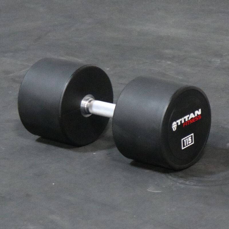 Urethane Dumbbells | 115 LB | Pair