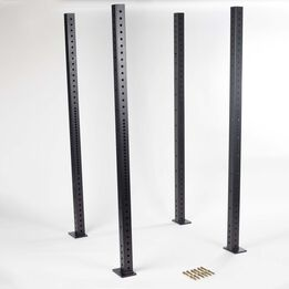 """SCRATCH AND DENT - 80"""" Uprights - 4pack - FINAL SALE"""