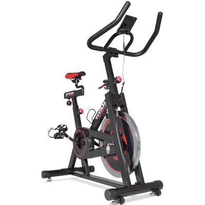 Pro Indoor Cycling Exercise Bike w/ LCD Screen 40 lb Flywheel