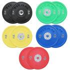 150 KG Set Color Urethane Bumper Plates