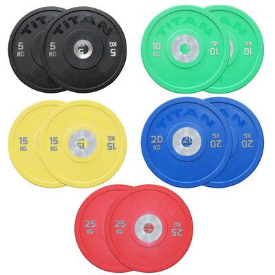 KG Color Urethane Bumper Plates