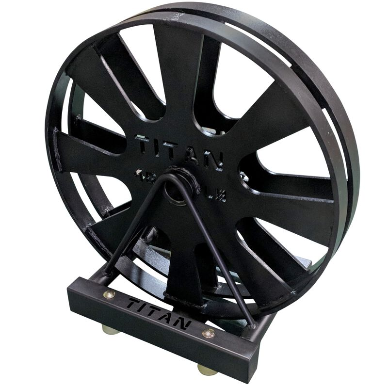 Horizontal Wagon Wheel Storage