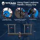 Viking Press Landmine Handle | Skinny Neutral Grip