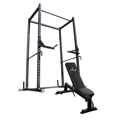 T-2 Power Rack & Incline Bench Combo