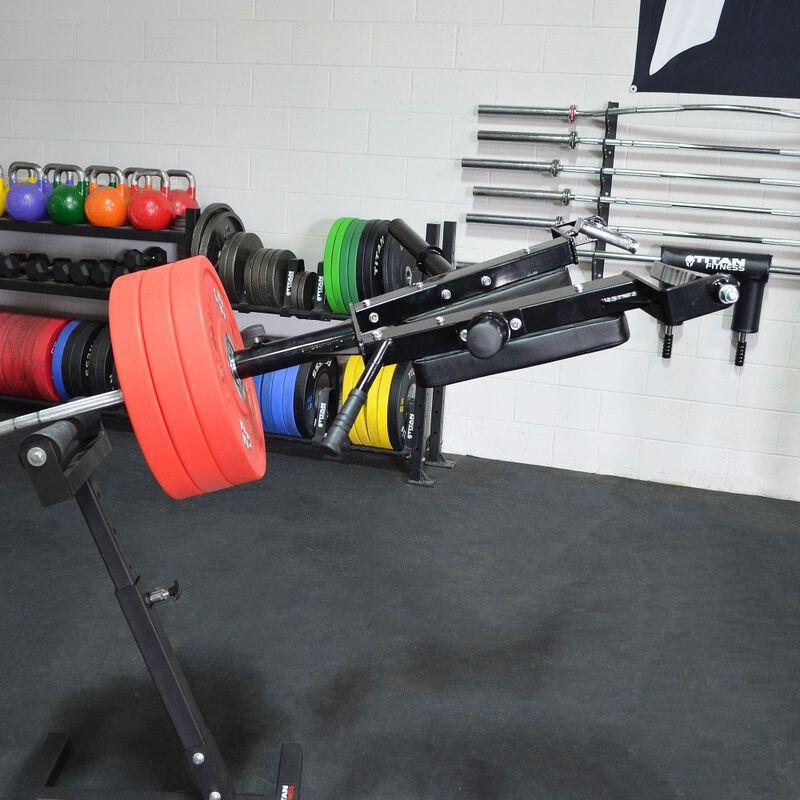 Linebacker Squat v2 & Landmine Stand Combo
