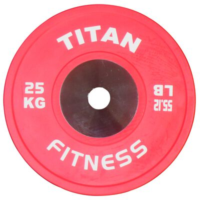 Elite Olympic Bumper Plates | Color | 25 KG Single
