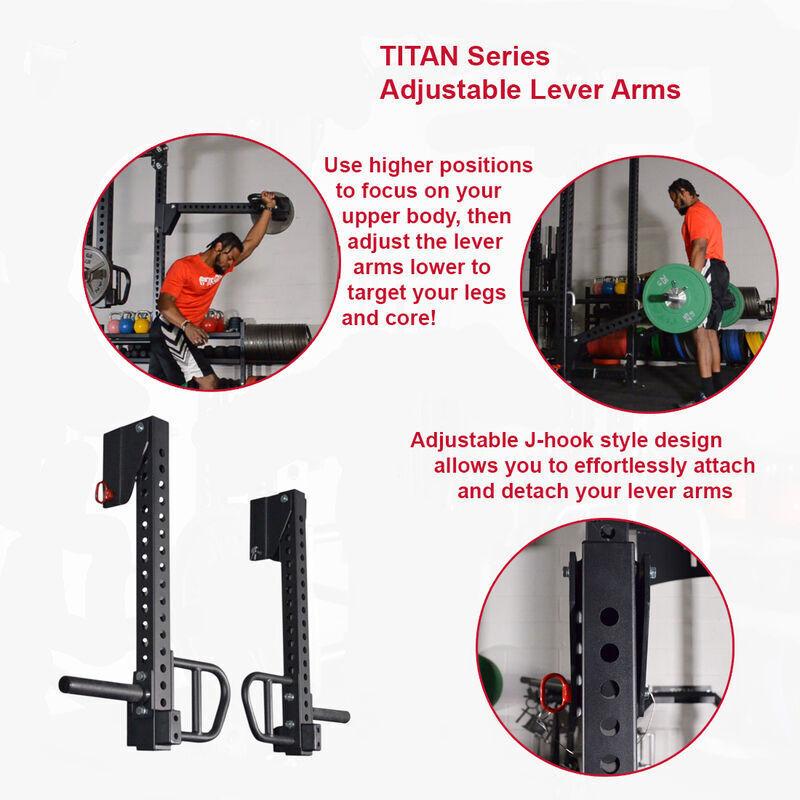 TITAN Series Adjustable Lever Arms