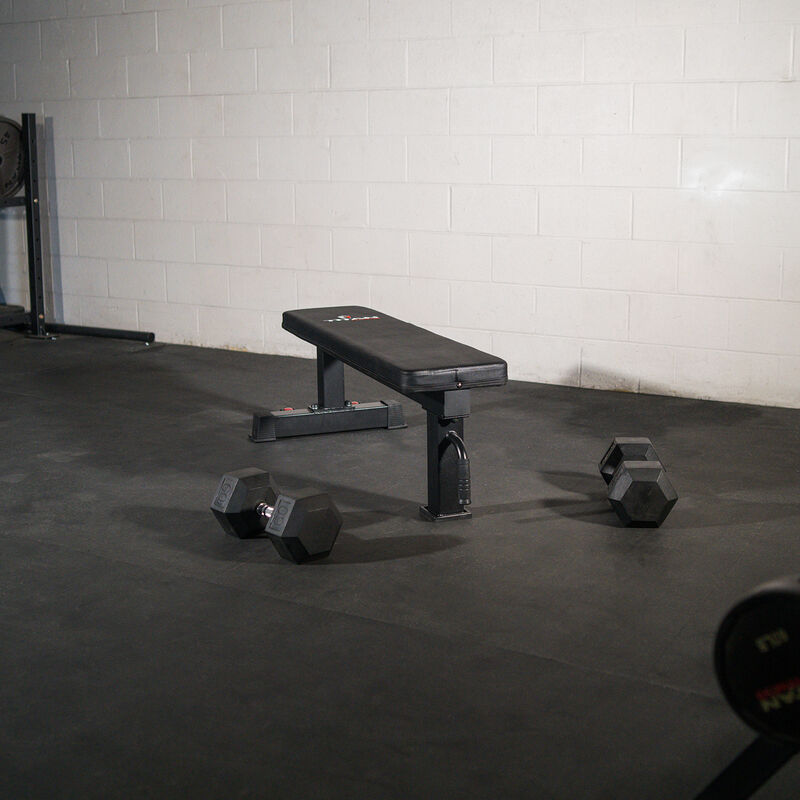 Single Post Competition Flat Bench