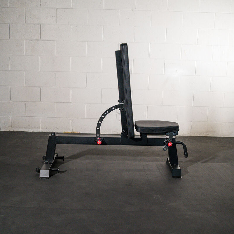 X-2 Series Short Power Rack with Incline Bench Combo