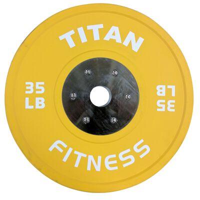 Elite Olympic Bumper Plate | Color | 35 LB Single