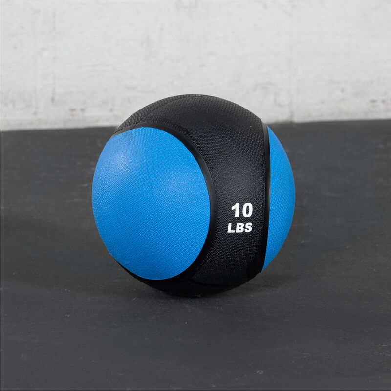 10 LB Rubber Medicine Ball