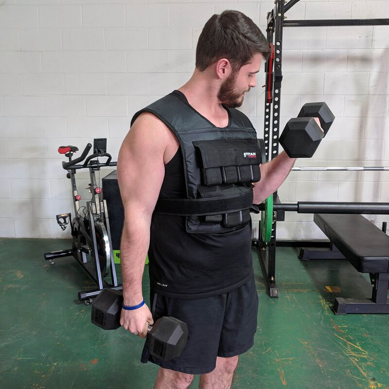 Adjustable Weighted Vest 40 LB
