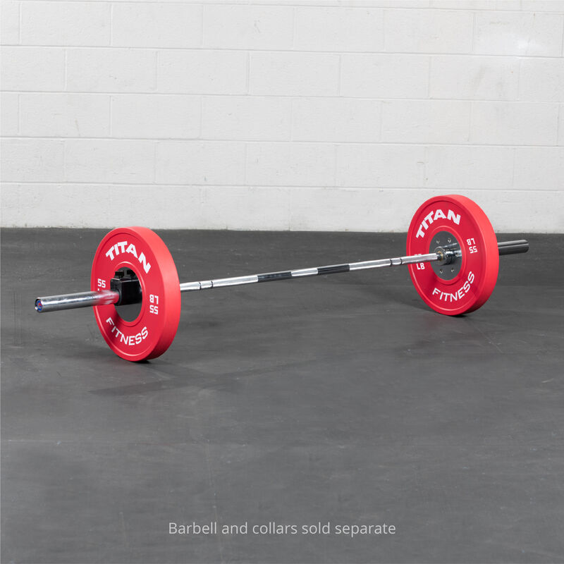 55 LB Single Elite Color Bumper Plate