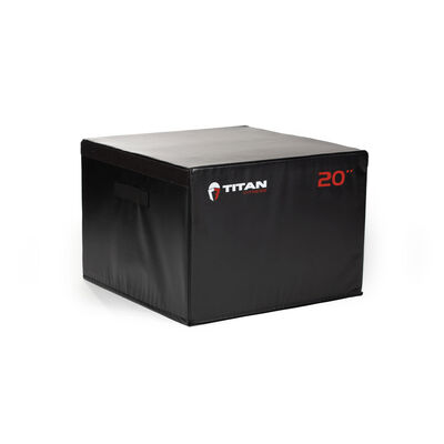 20-in Soft Foam Plyometric Box