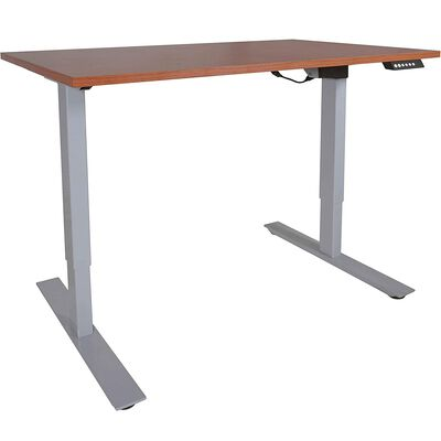 "A2 Single Motor Sit To Stand Desk w/ Wood 30""x48"" Top"