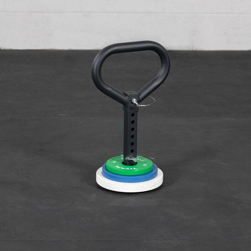Plate Loadable Kettlebell Swing