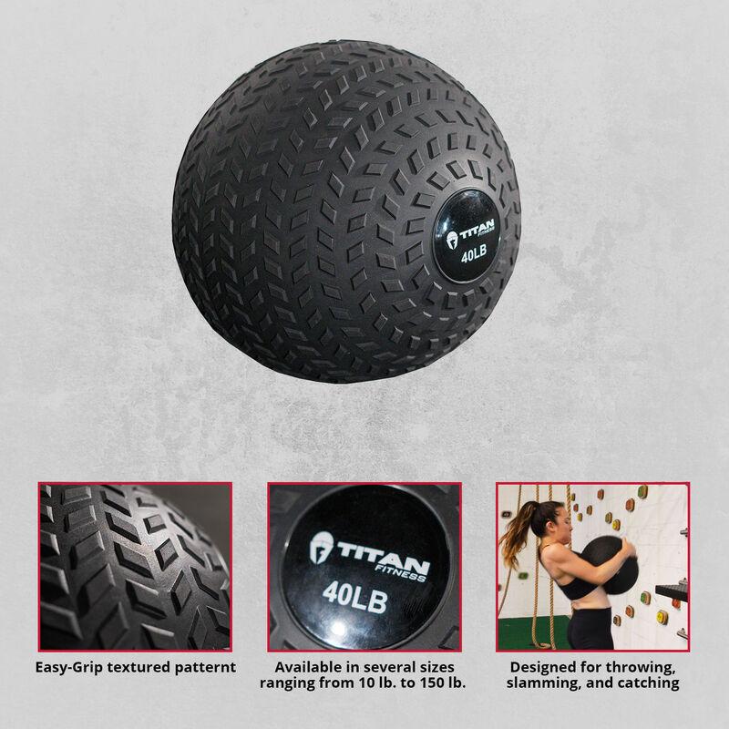 40 lb. Rubber Tread Slam Ball
