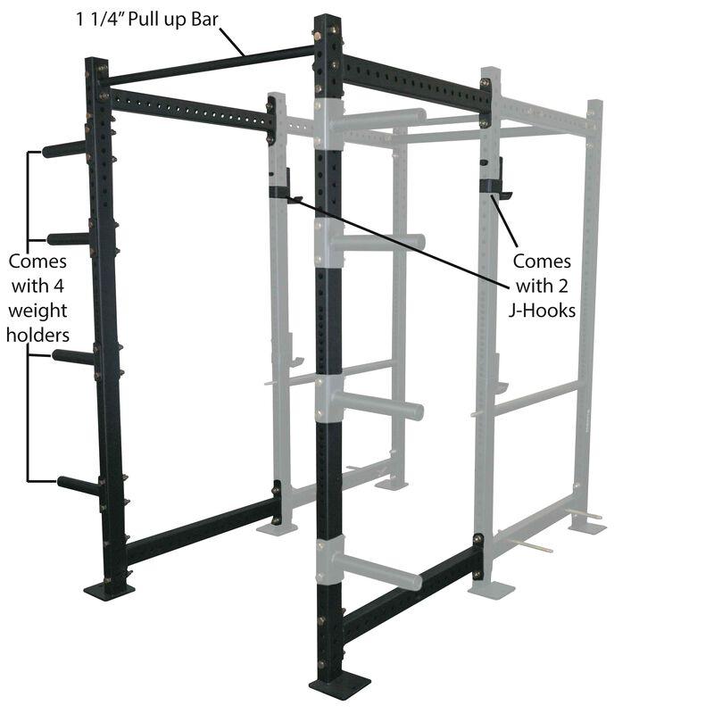 """36"""" Extension Kit For T-3 Short Power Rack"""