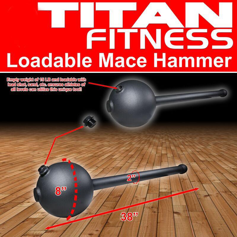 Loadable Mace Hammer