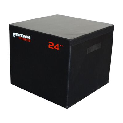 "24"" Portable Foam Plyometric Box"
