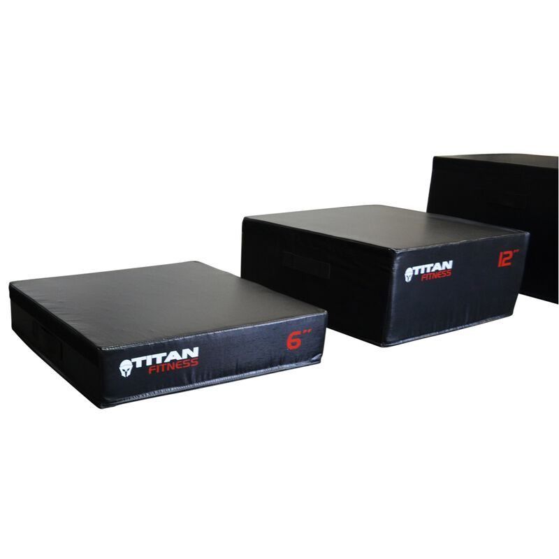 "6"" Portable Foam Plyometric Box"