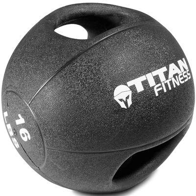 16lb Dual Grip Medicine Ball