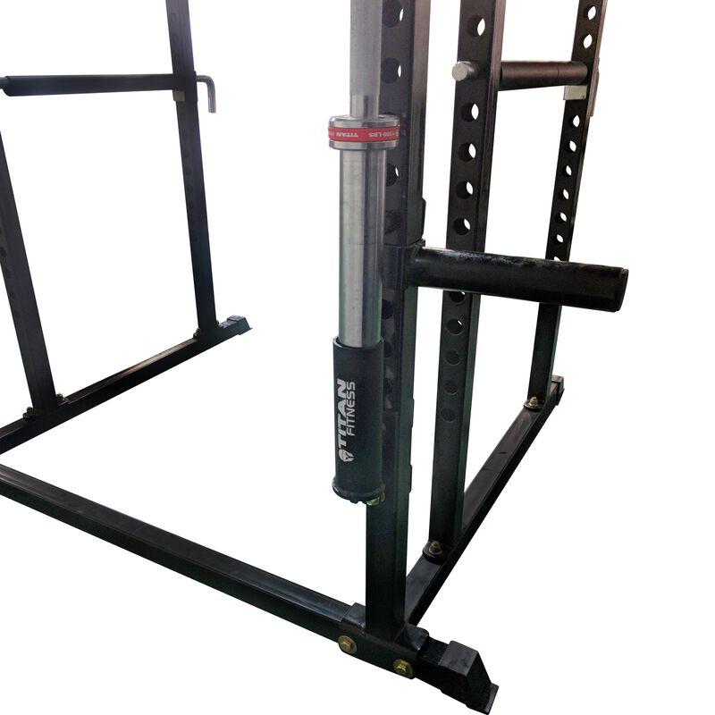 Pair Of Vertical Mount Barbell Holders For T-2 Power Rack