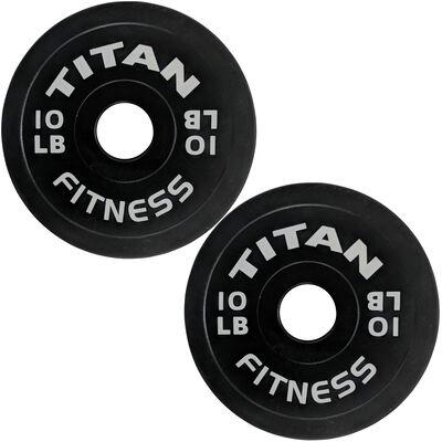 10 LB Pair Black Change Plates