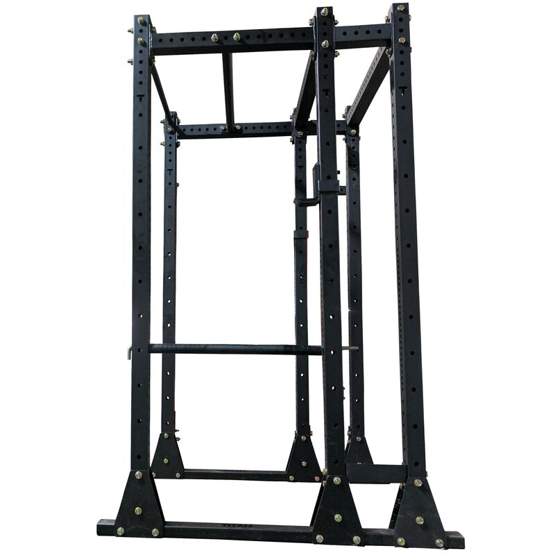 """X-3 Series Flat Foot Power Rack   Tall with 10"""" Extension"""
