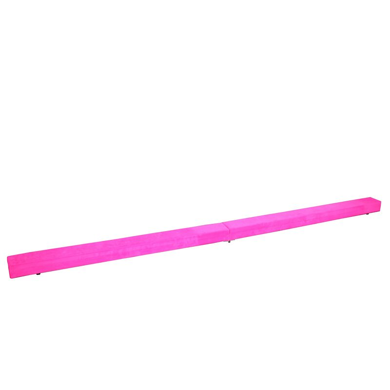 Jr. Gymnastics Balance Beam | 8' Folding | Pink