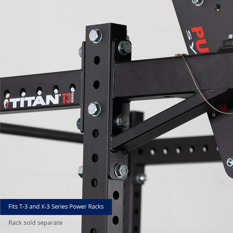 T-3 and X-3 Series Revolving Pull-Up Bars