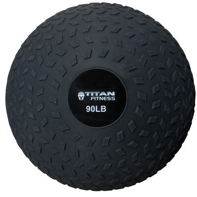 90LB Titan Fitness Slam Ball Rubber