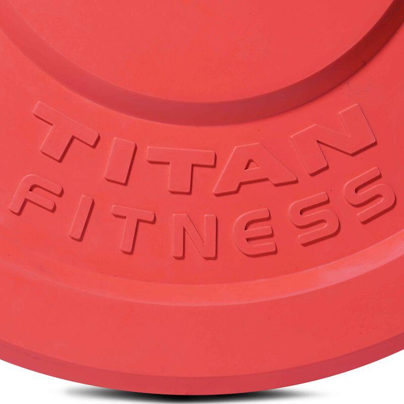 45 LB Single Color Olympic Rubber Bumper Plate