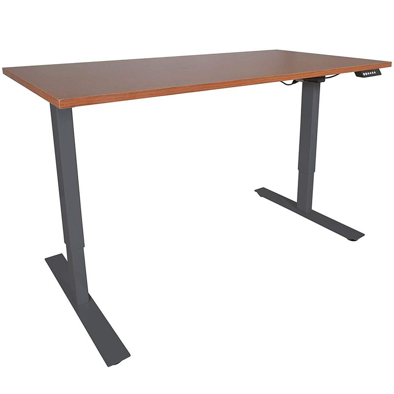 "A2 Single Motor Sit To Stand Desk w/ Wood 30"" x 48"" Top"