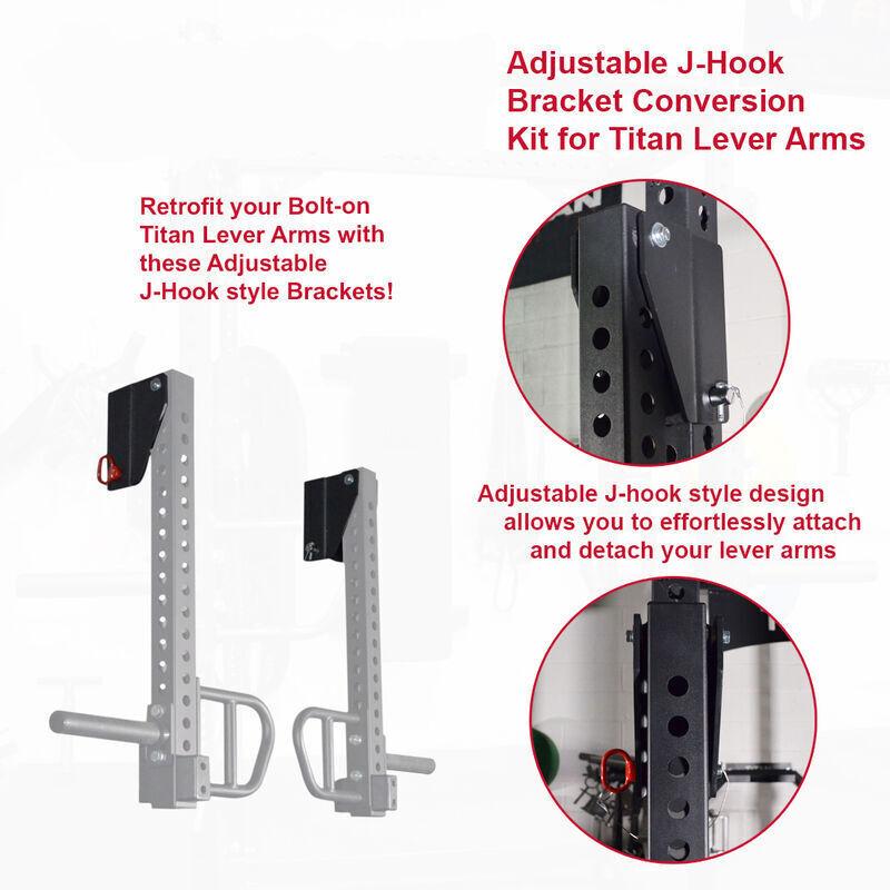 Adjustable Bracket Conversion Kit for TITAN Lever Arms