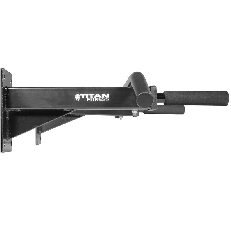 Titan 3 Position Wall Mounted Pull Up Bar ChinUp Mount Foam Grip Handles Multi F