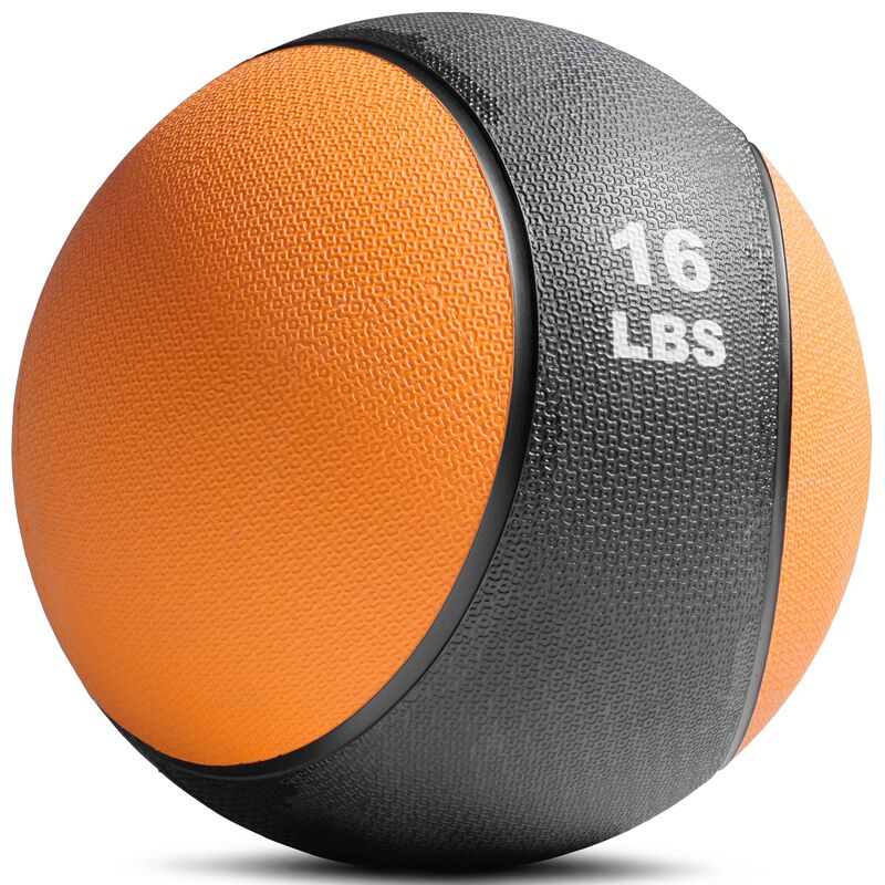 16lb Rubber Medicine Ball