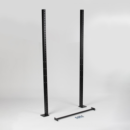 """SCRATCH AND DENT - Pair of 91"""" uprights with pull-up bar - FINAL SALE"""
