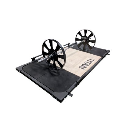 Pair of Wagon Wheel Pulling Blocks