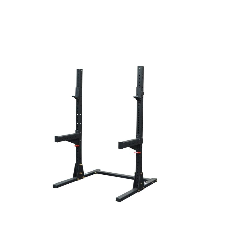 X-3 Series Short Squat Stand with Spotter Arms