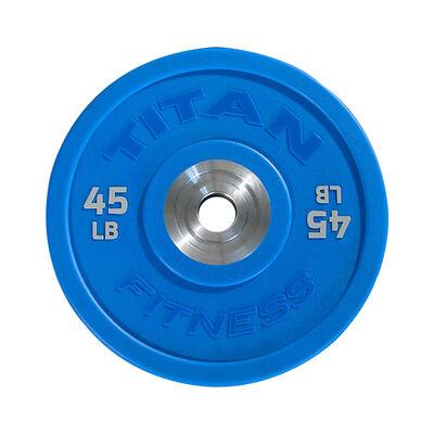 45 LB Single Color Urethane Bumper Plate