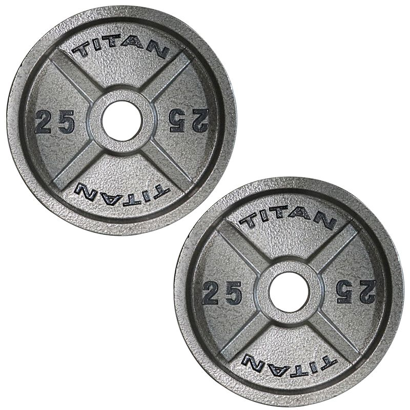 Cast Iron Olympic Plates