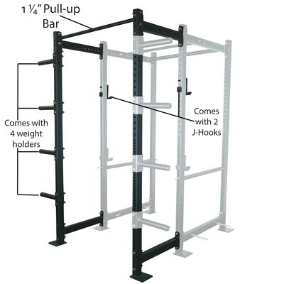 "24"" Extension Kit For T-3 Short Power Rack"