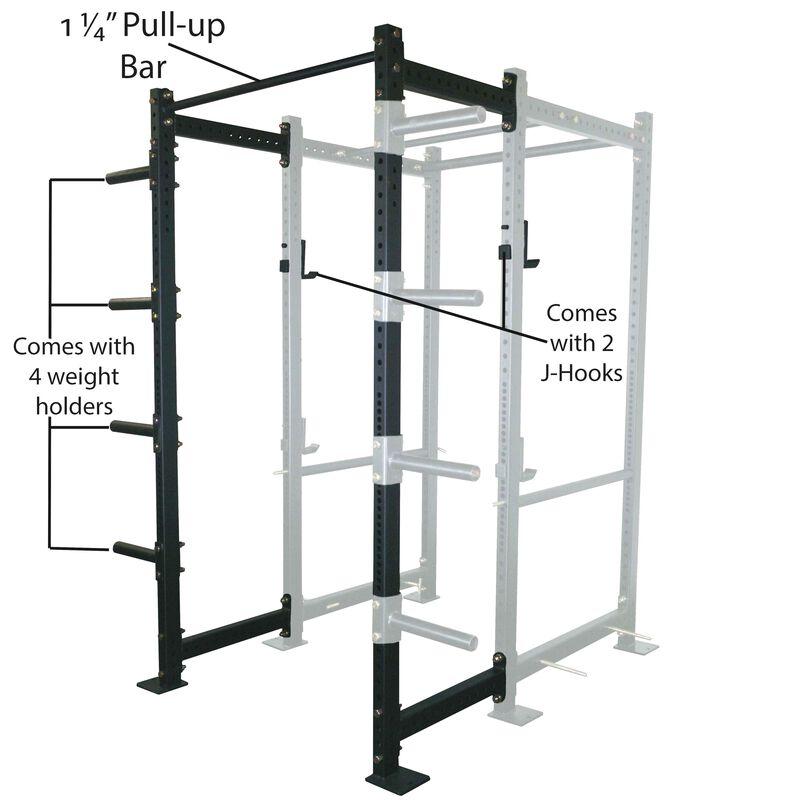 """24"""" Extension Kit For T-3 Short Power Rack"""