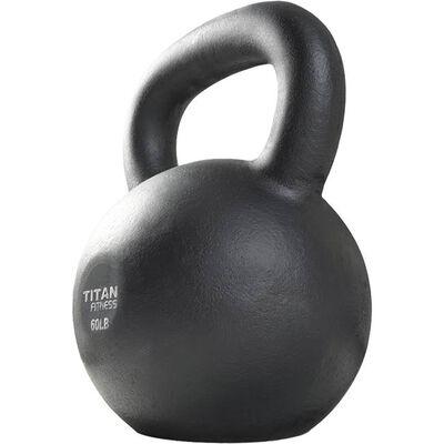 Cast Iron Kettlebell Weight - 60 lbs