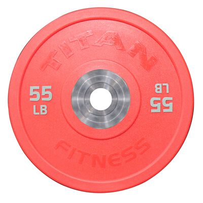 Urethane Bumper Plates | Color | 55 LB Single | SKU: 430225