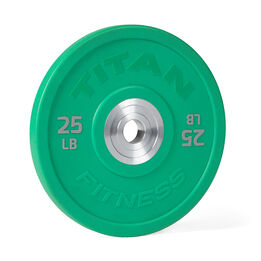 25 LB Single Color Urethane Bumper Plate